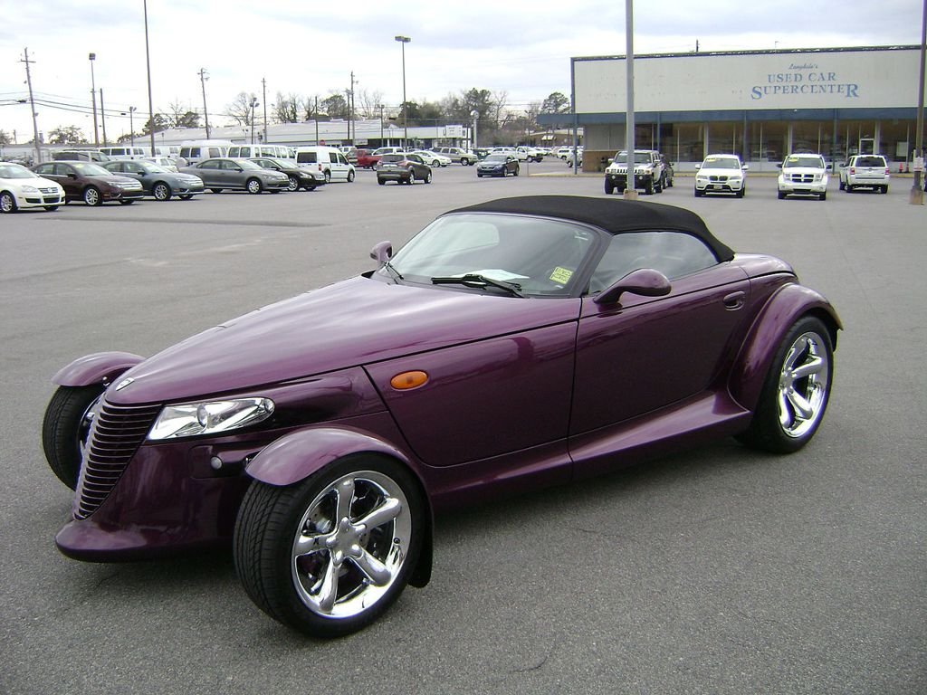 Purple Plymouth Prowler 97 (NE_corner)