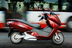red-black-scooter