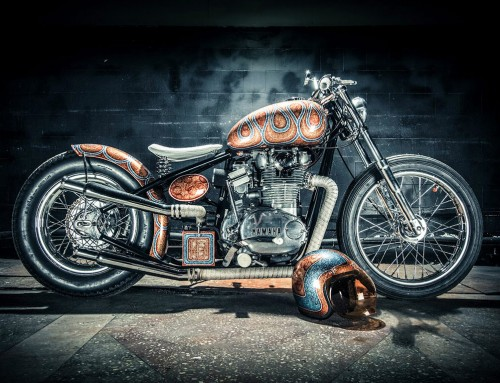 Yamaha XS650 Custom Bobber – Individually Constructed Vehicle