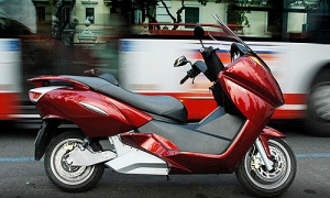 red-motorbike